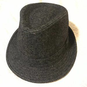 LAST CHANCE 10/13🔸Sparkly Charcoal Fedora Hat